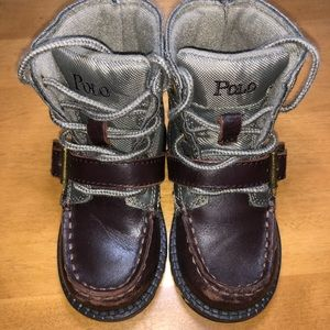 Polo Boots. Size 6.5 Baby/Toddler Boy